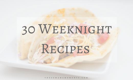 Easy Weeknight Recipes