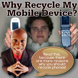 Old phone recycling