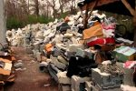 Image of a large WEEE waste pile.