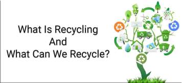 An image which provides a representation of what is recycling.