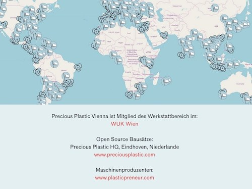 Precious Plastic Vienna addresses