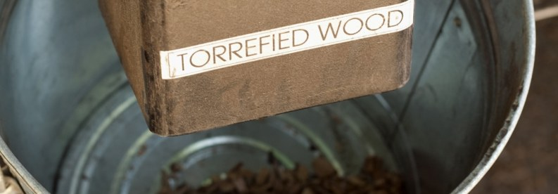 Torrefied Wood