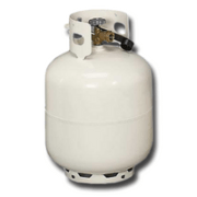 Propane tanks are considered household toxins and should be recycled.