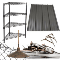Scrap metal can be recycled at several locations in Black Hawk County.