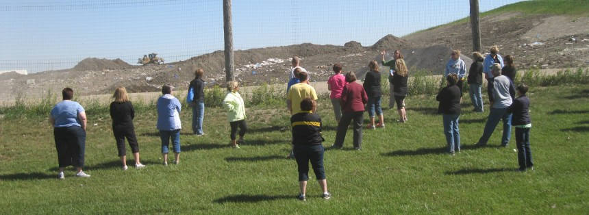 This landfill tour is just one of the college and adult educational programs available.