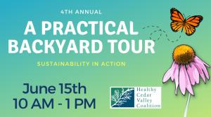 """A Practical Backyard Tour"" on June 15th, 2019"