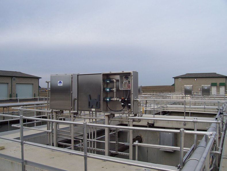 bnr biological nutrient removal mixing system