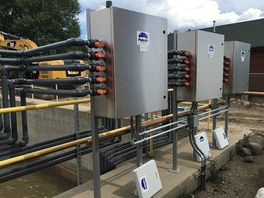 bnr wastewater mixing system