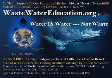 2014 WasteWaterEducation raffle