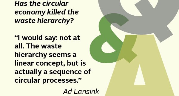 Father of Waste Hierarchy Talks About Circular Economy and Zero Waste