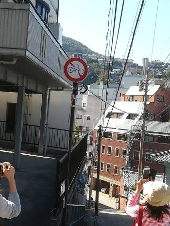 自転車進入禁止