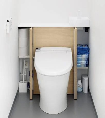 トイレすっきり収納-収納内部