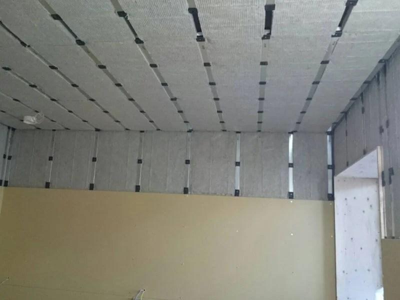 壁天井-音パット施工