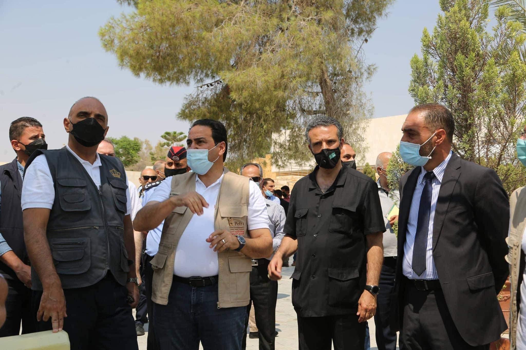 دولة رئيس الوزراء الدكتور بشر الخصاونة في زيارة ميدانية لمحمية البترا في سلطة إقليم البترا