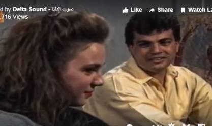 فيديو نادر لـعمرو دياب يغني عيني منك لشيرين رضا فن