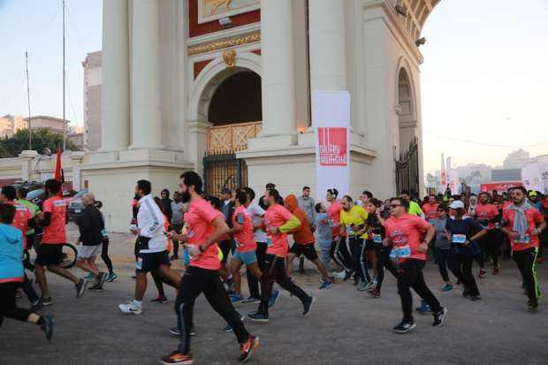 بالصور  انطلاق ماراثون الإسكندرية تحت رعاية وزارة الشباب والرياضة