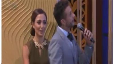 6806164a9a420 أحمد الفيشاوي أثناء كلامه غير المتزن على مسرح مهرجان الجونة