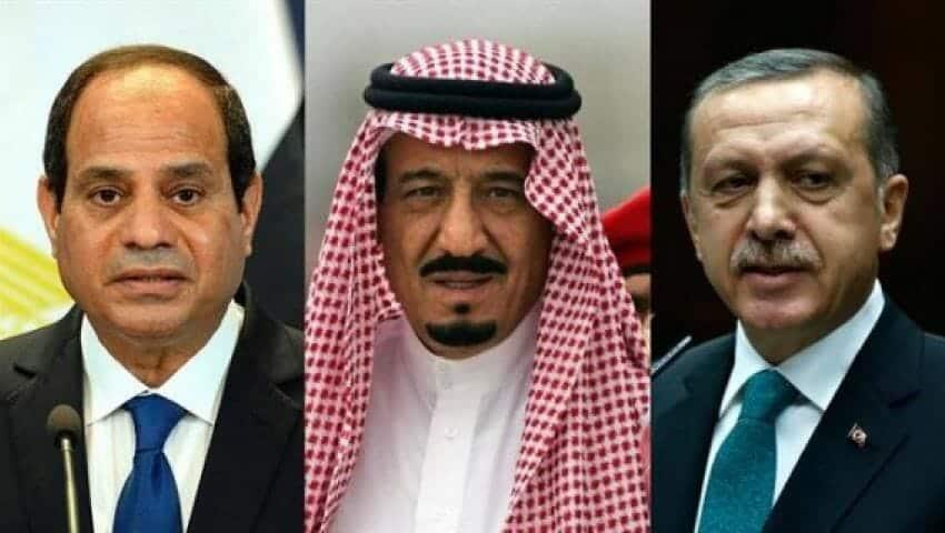 السعودية تضغط على إردوغان لاستقبال السيسي في إسطنبول