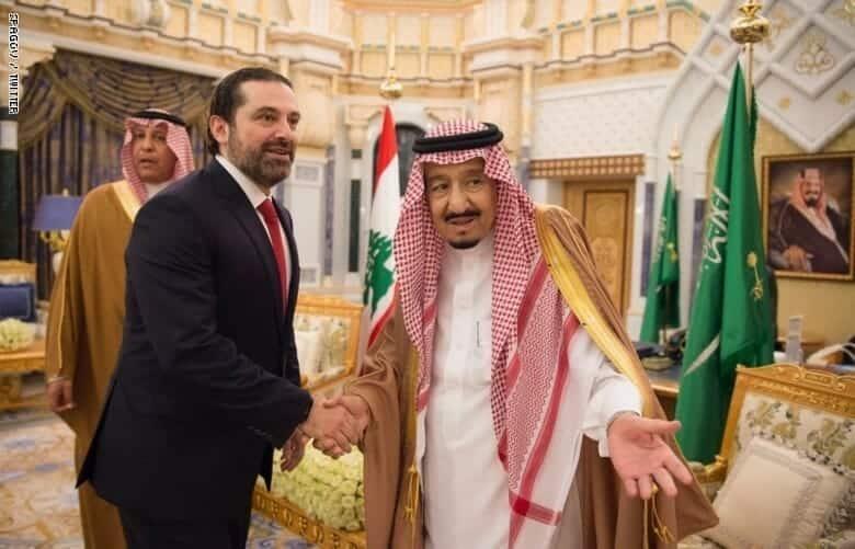 الحريري والملك سلمان