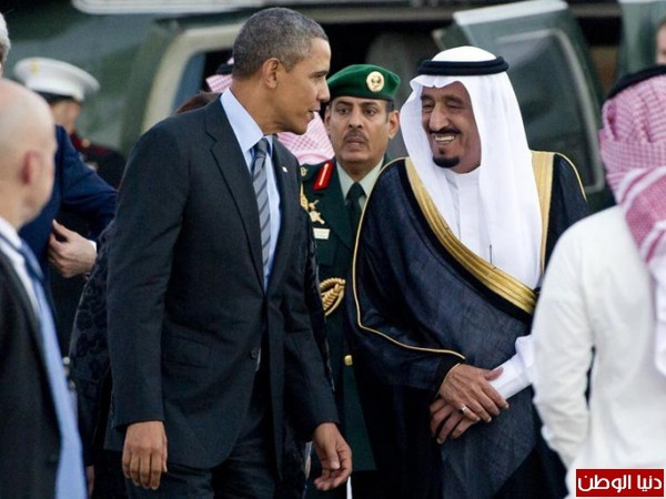 الملك واوباما