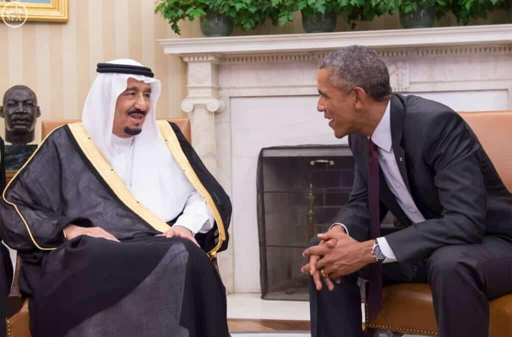 اوباما و الملك سلمان