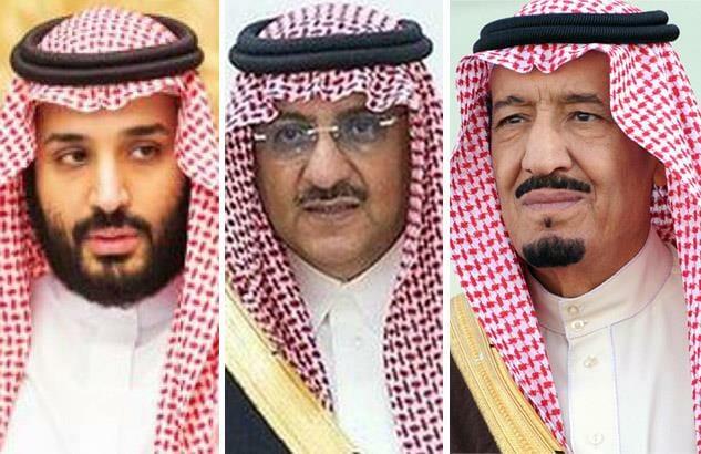 الملك وابنه واخيه