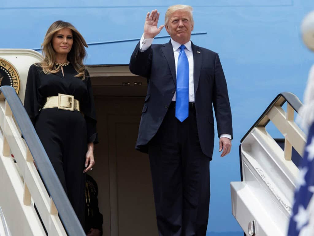 ميلانيا زوجة ترامب