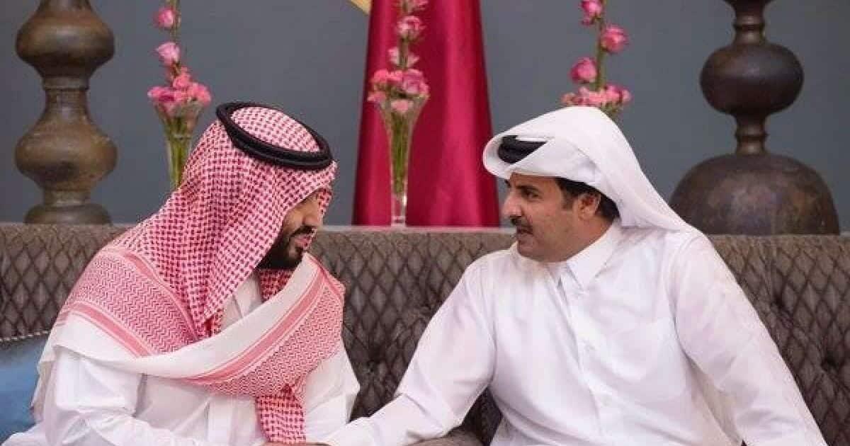 تميم ومحمد بن سلمان