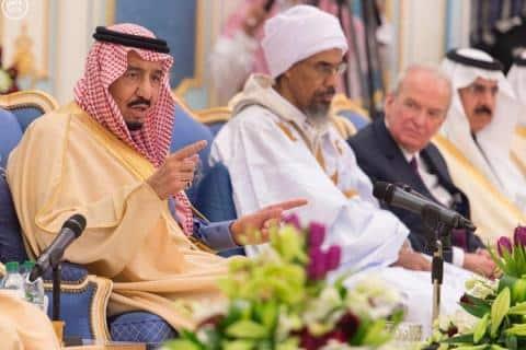 مفتي موريتانيا والملك سلمان