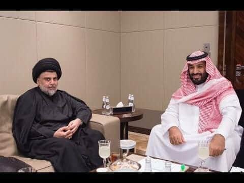 مقتدى الصدر ومحمد بن سلمان