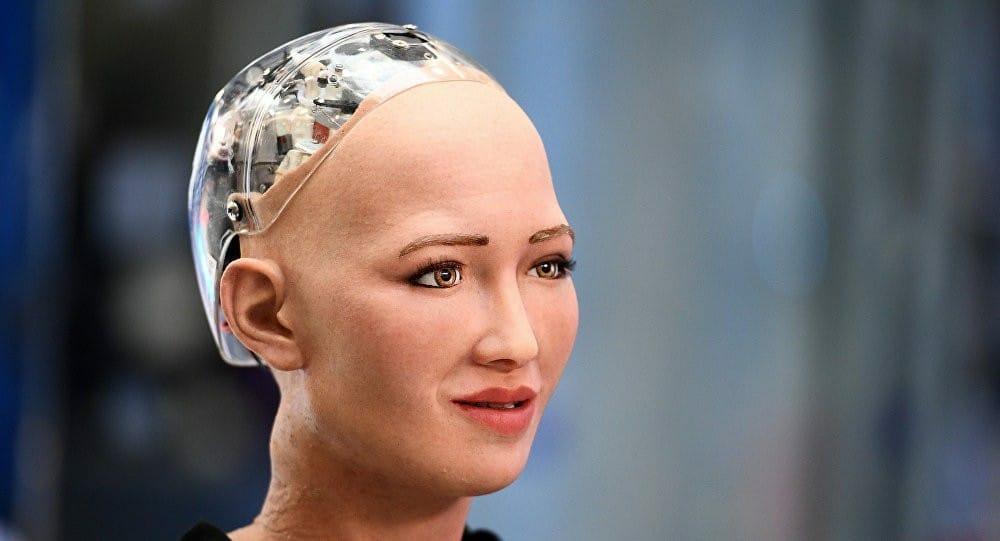 الروبوت صوفيا السعودي