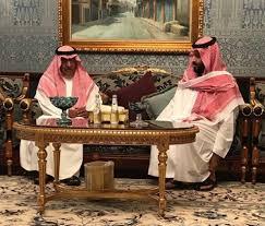 مقرن بن عبد العزيز وبن سلمان