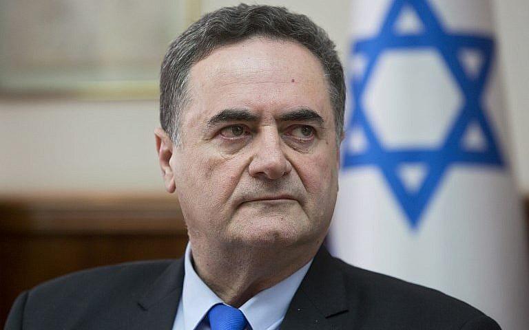 وزير الاستخبارات الاسرائيلي يسرائيل كاتس