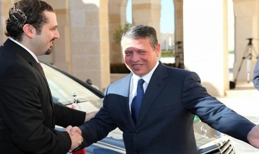 """وصف """"ترامب"""" بالسيارة المندفعة بلا مكابح.. ملك الأردن لـ""""الحريري"""": استعد لتوطين اللاجئين لأنه سيصبح أمرا واقعا"""