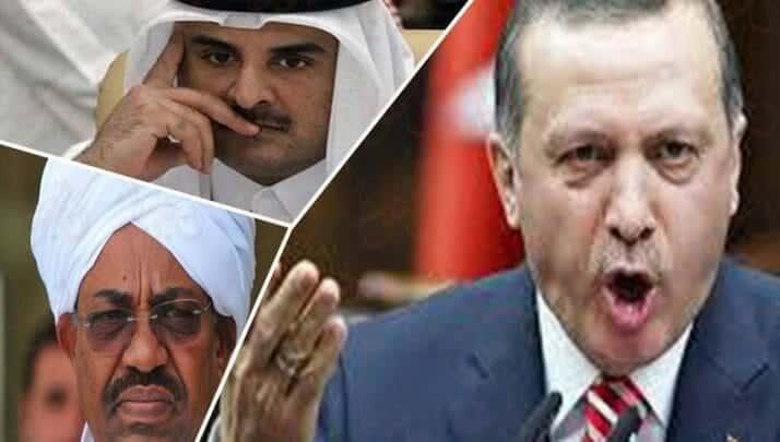 تركيا وقطر والسودان