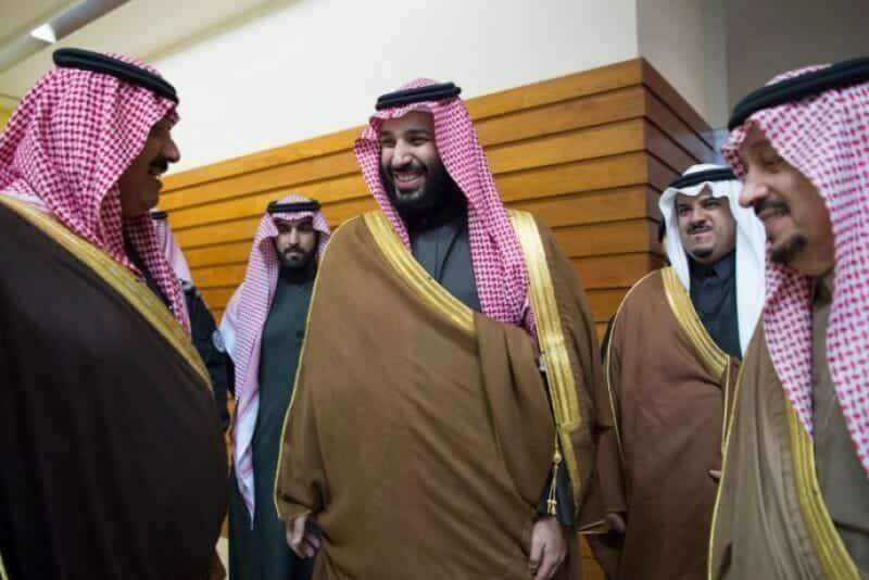 محمد بن سلمان ومتعب بن عبد الله
