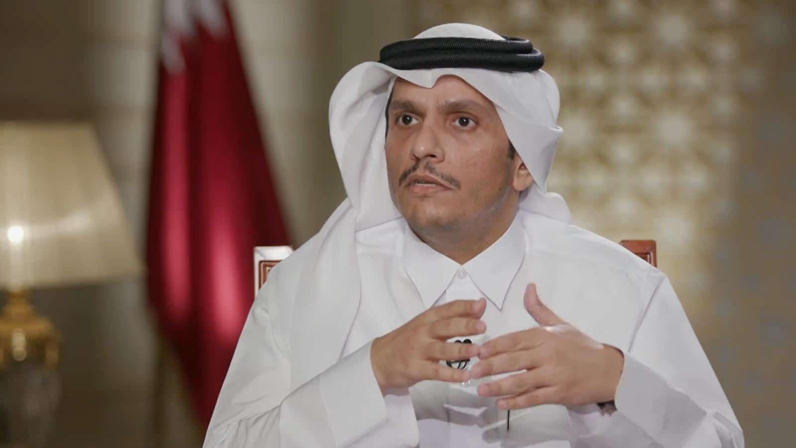 """وزير الخارجية القطري يهاجم حفتر ويصف قواته بـ""""المليشيات"""": يجب أن تع الأيادي العابثة هذه الحقيقة"""