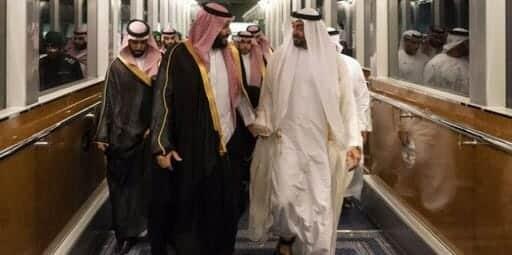 محمد بن سلمان وابن زايد