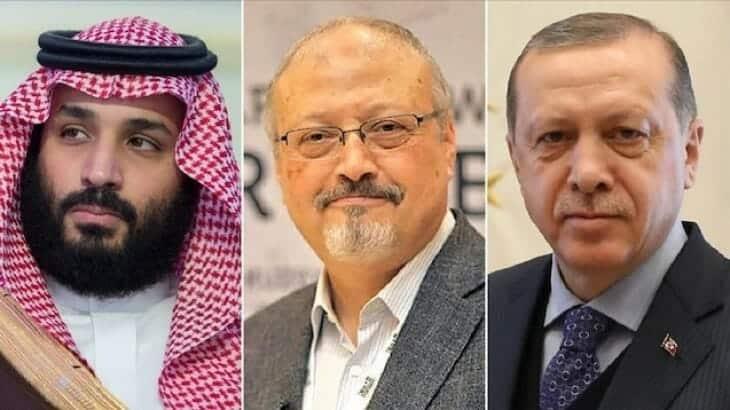اردوغان ومحمد بن سلمان