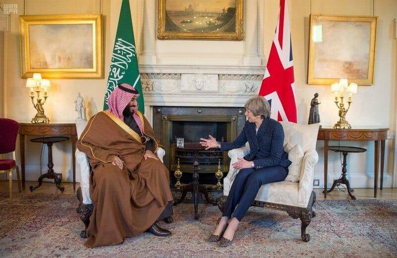 بريطانيا والسعودية