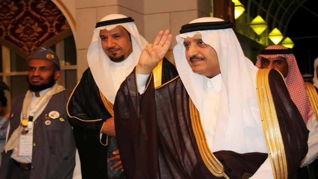 احمد بن عبد العزيز وخالد فيصل