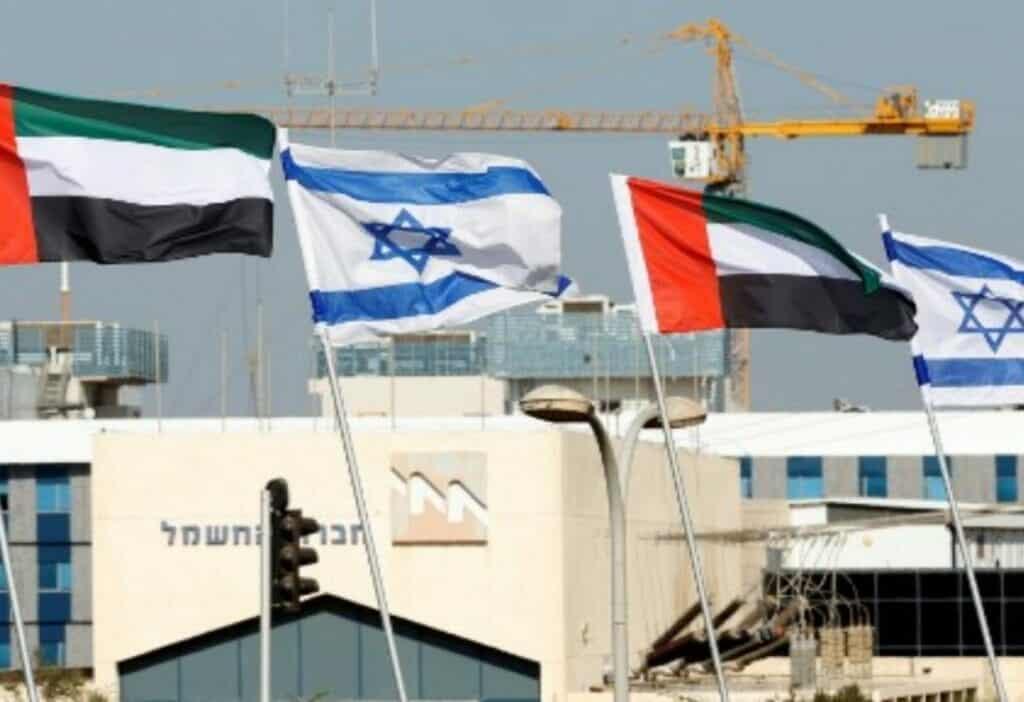 اتفاقية إسرائيلية إماراتية لإنشاء منطقة صناعية بأبوظبي على مساحة تعادل 8 أضعاف مساحة تل أبيب