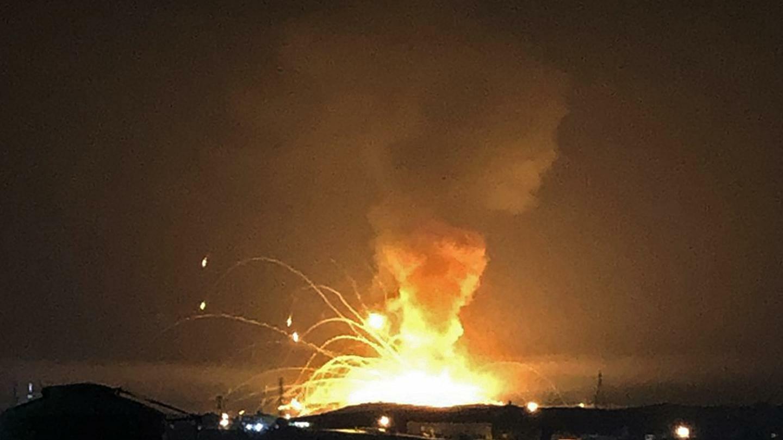 انفجار الاردن
