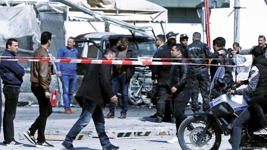تفجير انتحاري بتونس