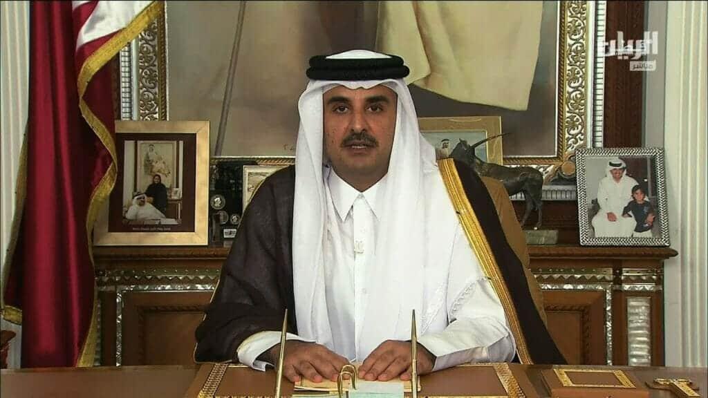 أمير قطر أول زعيم عربي يبعث رسالة إلى حاكِمة نيوزيلندا بعد مذبحة المسجدين.. هذا ما جاء فيها
