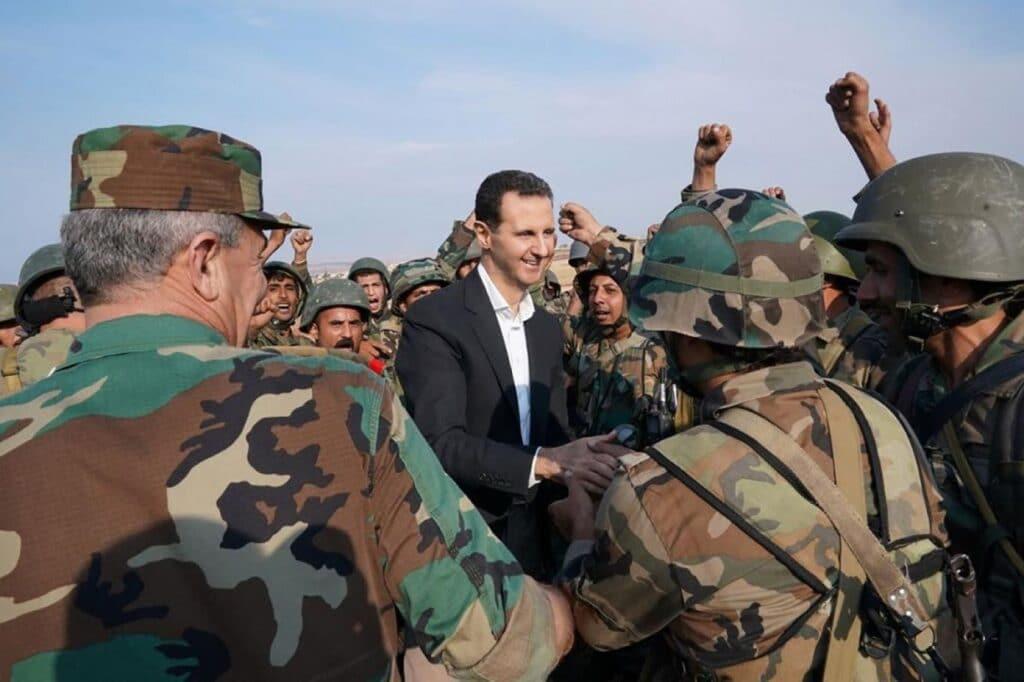 جيش بشار الاسد