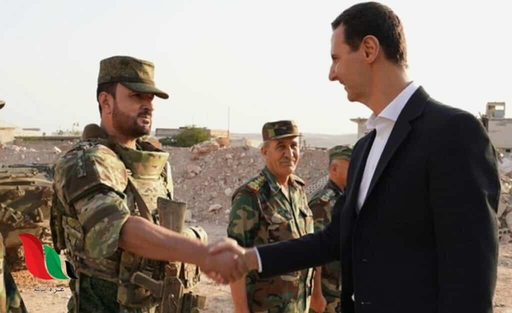 """""""شاهد"""" سهيل الحسن ذراع الأسد اليمنى يشبه نفسه بهذا الصحابي الجليل ويثير سخرية واسعة"""