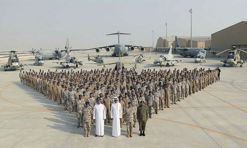طائرات عسكرية قطرية