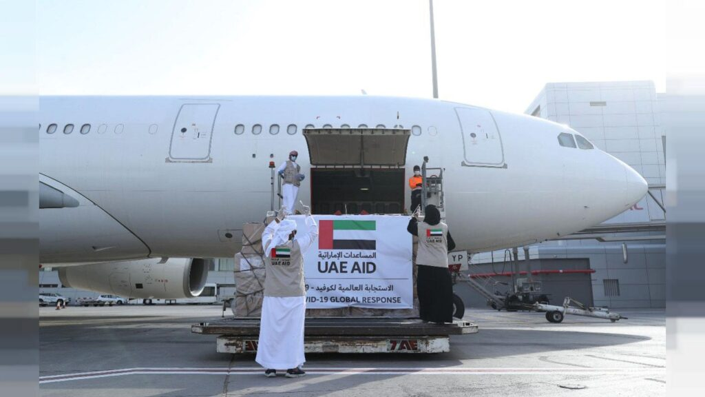 طائرة اماراتية