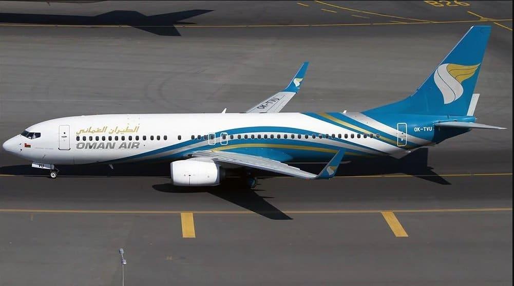 طائرة عمانية